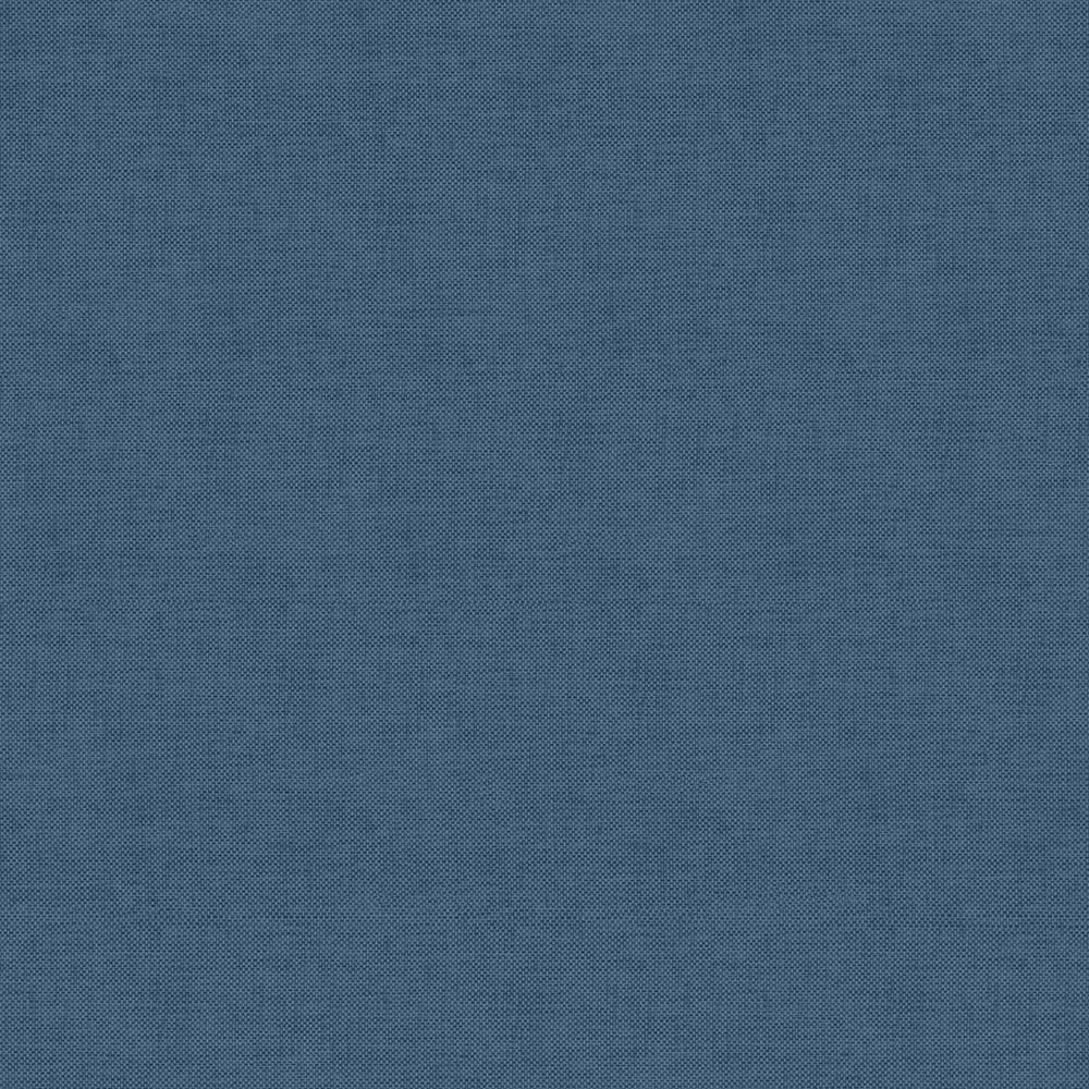 Papel De Parede Linho Azul 085 Branco.