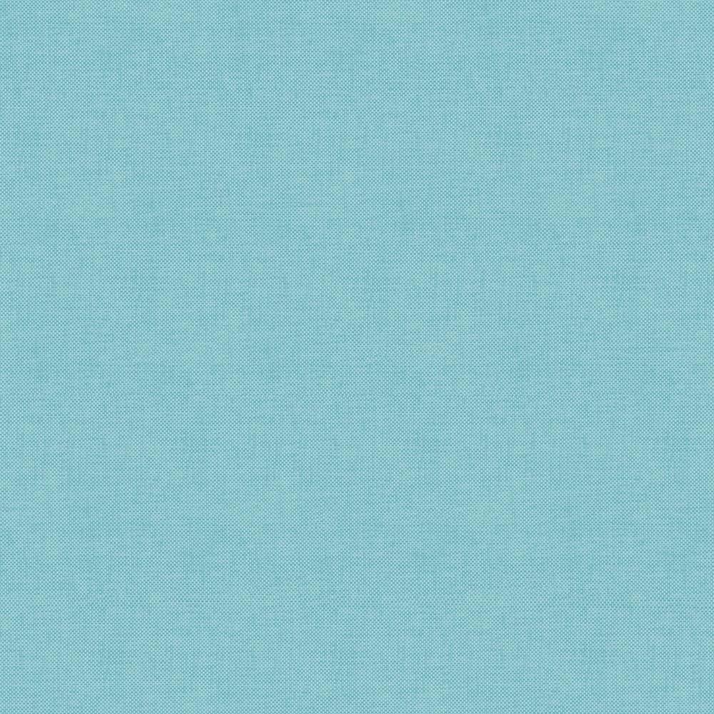 Papel De Parede Linho Azul 090 Branco.