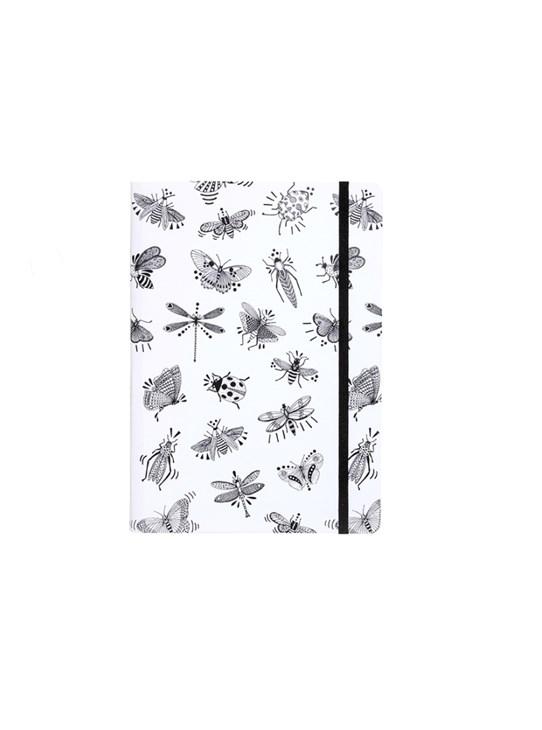 Caderno insetos grande Ana Strumpf