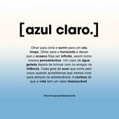 CANGA AZUL CLARO branco.