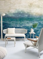 PAINEL ATOL AZUL COM BEGE INTENSO