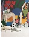 PAINEL BRISA FRESCA AZUL MARINHO 290 cm