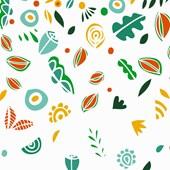 Painel chuva de primavera colorido Joana Lira