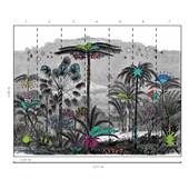 Painel floresta colorido Ana Strumpf
