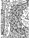 PAPEL DE PAREDE AMAZÔNIA FANTÁSTICA BRANCO E PRETO 290 cm
