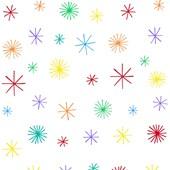 Papel de parede asterísco colorido menino Ana Strumpf