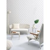 Papel de parede bolas cinza branco. + Regina Strumpf