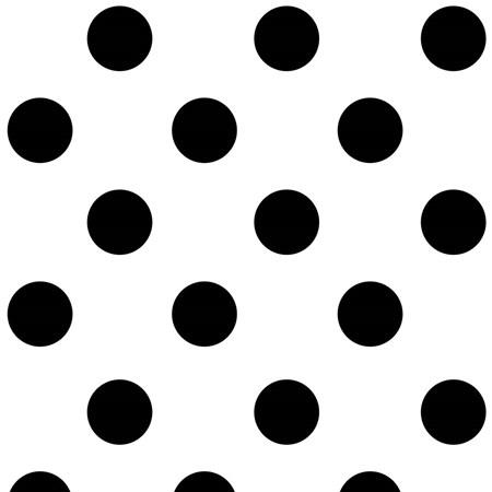 Papel de parede bolas preto branco. + Regina Strumpf