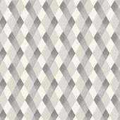 Papel de parede losango preto e branco branco.