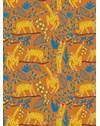 PAPEL DE PAREDE MACACOS MARROM 290 cm