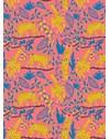 PAPEL DE PAREDE MACACOS ROSA 290 cm