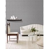 Papel de parede retangulos preto e branco branco. + Regina Strumpf