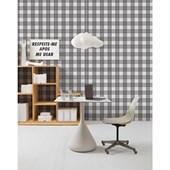 Papel de parede xadrez preto e branco branco. + Regina Strumpf